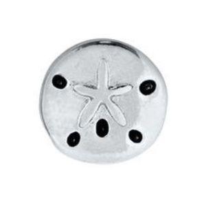 3/$15 🖤 ORIGAMI OWL 🖤 Silver Sand Dollar Charm